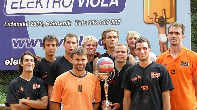 Vítězný tým Příbrami.