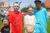 Indiánský den pro děti v Hořesedlích
