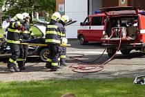 Dobrovolní hasiči v Kolešově oslavili sto třicet let trvání sboru