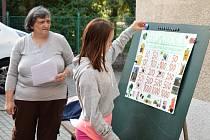 Podzimní kolo okresní ekologické soutěže v rakovnické botanické zahradě.