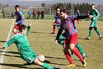 Tatran - Přední Kopanina 0:0, příprava 2017