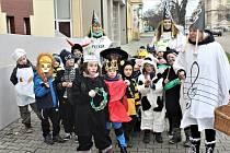 Děti ze střídy Berušek šly v průvodu