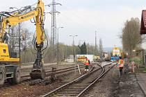 Rekonstrukce trati Rokycany - Nezvěstice