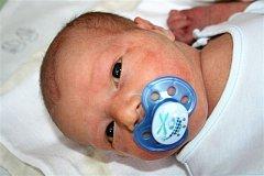 Ondřej VÍTOVEC z Mýta si poprvé zakřičel na porodním sále 18. března, tři minuty po druhé odpoledne. Maminka Jana a tatínek Petr znali pohlaví svého prvního dítěte dopředu. Malému Ondrovi sestřičky naměřily 52 cm, navážily 3830 gramů.