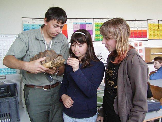 Hrádečtí žáci se zapojili do projektu Chraňme Madagaskar.