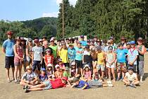 Tábor dětí z SDH Němčovice.