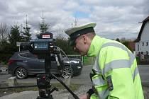 POLICISTÉ Z DOPRAVNÍHO inspektorátu Rokycany se zaměřili o Velikonocích také na dodržování rychlosti.