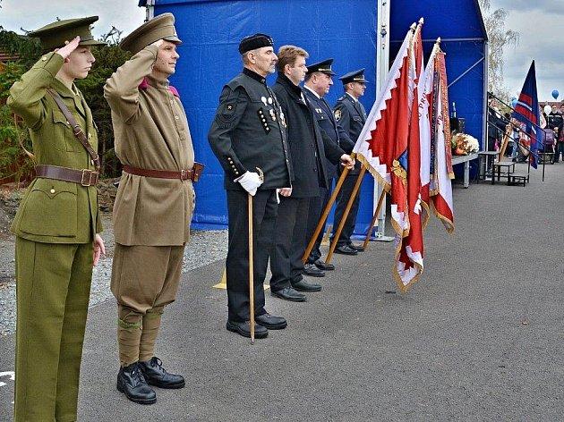 Oslava vzniku Československa v Břasích.