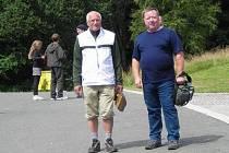 Ladislav Moulis z Rokycan se na své dovolené náhodně setkal se svým bývalým spoluhráčem a zároveň nynějším prezidentem republiky Václavem Klausem.