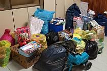 Sbírka na pomoc postižené rodině