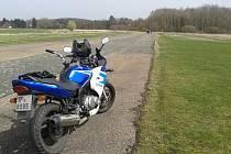 V Mýtě vzniklo na letišti cvičiště pro motorky.