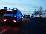 Smrtelná dopravní nehoda u Ejpovic.