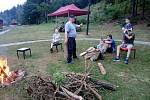 Soustředění malých hasičů.