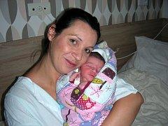 ANETKA MEZEYOVÁ Maminka Kateřina Andělová ze Zbirohu chová v náručí dcerku Anetu, které vybral křestní jméno tatínek Pavel Mezey. Anetka Mezeyová se narodila 10. září 2017 v Hořovicích, vážila 3500 gramů a měřila 50 cm.