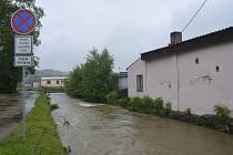 Potok protékající Radnicemi (ilustrační foto)