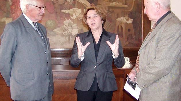 Kubánská chargé d´affaires Barbara Montalo Alvarez navštívila Rokycany.