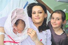 Romana CICUOVÁ z Břas se narodila 5. března ve 23 hodin a 14 minut. Maminka Julie Budínová a tatínek Roman Cicu znali pohlaví miminka dopředu. Romanka vážila při narození 2790 gramů, měřila 46 cm.