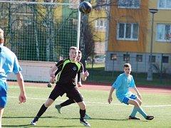 Fotbaloví starší žáci FC Rokycany válí v krajském přeboru.