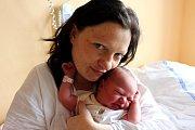 TEREZA DOUBKOVÁ z Kakejcova se na sále rokycanské porodnice narodila 1. března brzy ráno, v pět hodin a čtyřicet sedm minut. Malá Terezka vážila 3480 gramů, měřila rovných 50 cm. Tatínek Ondřej byl u porodu pomáhat.y