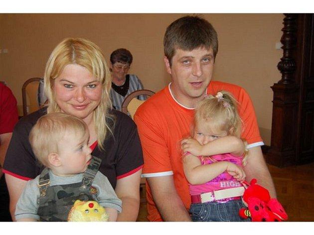 Vítání dětí v Mirošově