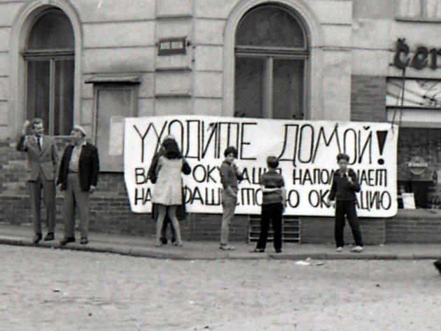 Rokycany, 21. srpen 1968