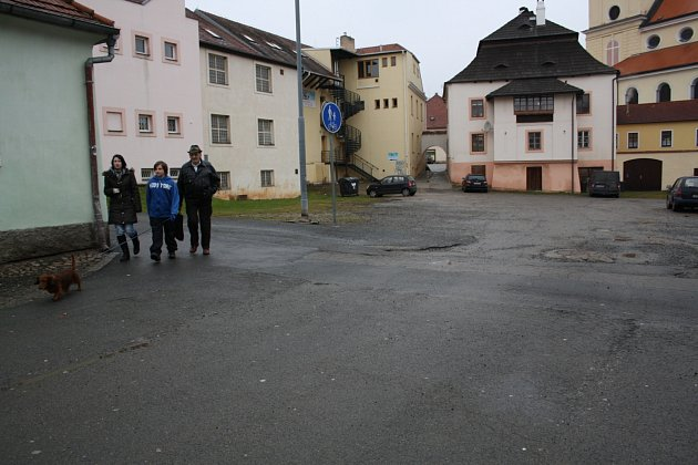 Rozlehlá oblast kolem Spilky, sousedící s hlavním náměstím, by se brzy měla změnit.