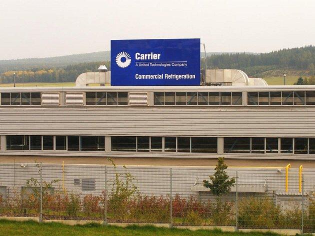 Společnost Carrier v Mýtě.