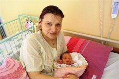 Zuzana KŘEPELKOVÁ z Rokycan si pro svůj příchod na svět vybrala datum 15. března. Narodila se brzy ráno, dvě minuty po páté hodině. Doma se na malou Zuzanku těší tři kluci Patrik (16 let), Robin (8 let) a roční Tobiáš. Vážil 3050 g a měřil 48 cm.