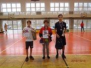 Chlapci i dívky soutěžili ve dvou věkových kategoriích