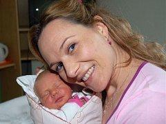 Diane FRIESLOVÁ z Rokycan si poprvé zakřičela na porodním sále 10. února. Narodila se deset minut po poledni. Manželé Dita a Jan věděli dopředu, že jejich třetí dítě bude holčička.