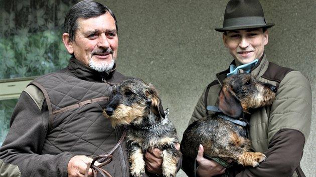 Rokycany - jarní svod loveckých psů