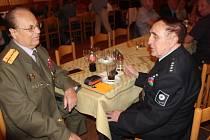 Setkání bývalých policistů v Restauraci Na Střelnici.