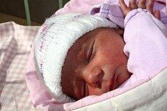 Kristýna DANIHELOVÁ z Borku u Rokycan se narodila na Apríla, tedy 1. dubna ve 12 hodin a 36 minut. Maminka Nelia a tatínek Kristián věděli dopředu, že si z porodnice ponesou domů malou holčičku. Kristýnka vážila 2960 gramů a měřila 46 cm.