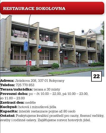 22. Restaurace Sokolovna