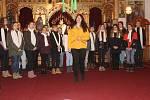 Předvánoční vystoupení malých zpěváčků v kostele Nejsvětější Trojice v Rokycanech