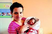 Kristýna Adéla ZAHRADNÍKOVÁ z Újezdu U sv. Kříže si poprvé zakřičela na porodním sále rokycanské porodnice 4. prosince deset minut po poledni. Manželé Adéla a Petr věděli dopředu, že jejich první dítě bude holčička. Kristýnka vážila 2710g, měřila 50cm.