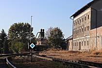 Konečná stanice na regionální trati je zajímavou dominantou