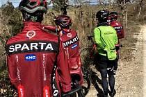 Jezdci AC Sparta jsou na soustředění v Itálii. Nenechali si ujít prestižní závod Strade Bianche a takhle v sobotu vyhlíželi ty nejlepší.