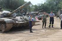 Vojenské muzeum Rokycany - Den s technikou