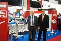 Strojírna Tyc Mýto získala jednu ze zlatých medailí na Mezinárodním strojírenském veletrhu.