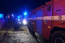 Hasiče zaměstnal především pátek - Požár RD v Lipnici