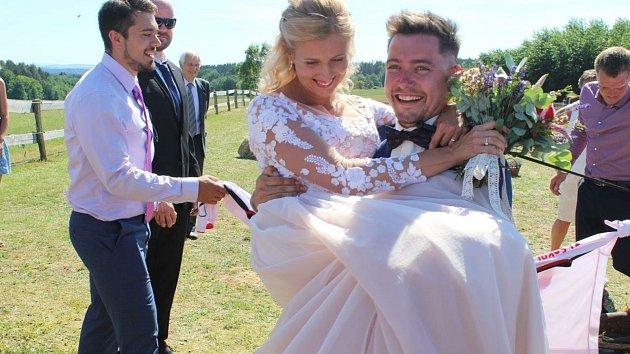 Novomanželé Vohárovi