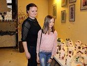 Slavnostní zahájení pražské výstavy Zvíkoveckých kytiček.