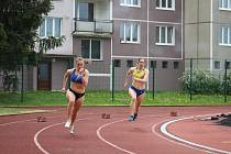 První letošní atletické závody v areálu na Jižním předměstí.