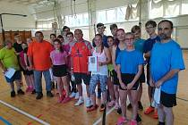 Návštěva zástupců obcí v základní škole ve Strašicích.