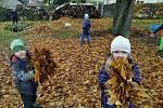 Děti z MŠ U Saské brány