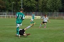 První ligový zápas starších žáků FC Rokycany U15.
