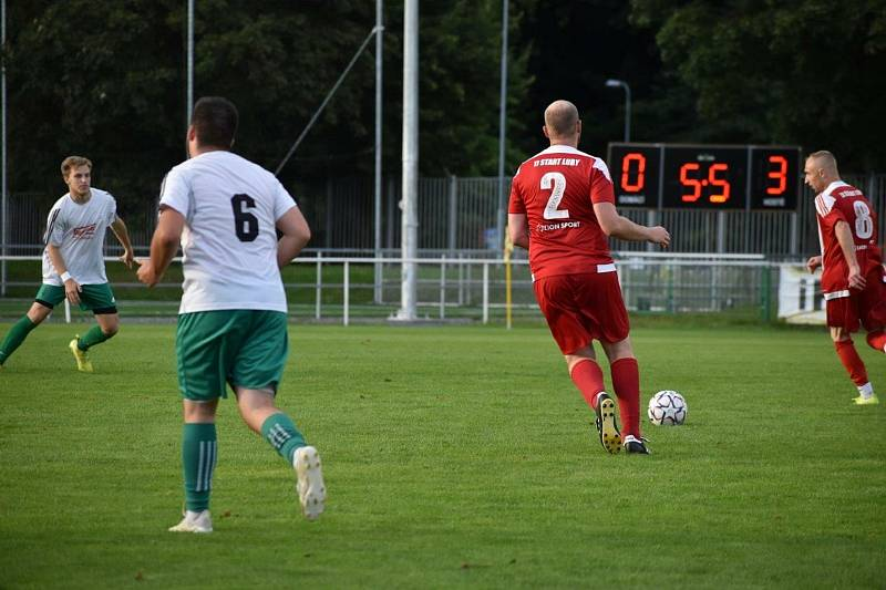 FC Rokycany B - TJ START Luby 1:4