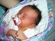 STELLINKA SLÁDKOVÁ Šťastným dnem pro maminku Štěpánku Sládkovou je 19. leden 2018. Třetí lednový pátek přivedla na svět v hořovické porodnici holčičku, které dala jméno Stella. Stellince Sládkové sestřičky na porodním sále navážily 3 270 gramů.