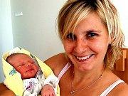 Adélka Neckářová rozšířila počet obyvatel Rokycan 19. srpna po druhé hodině ranní. Pro maminku Jitku a přítele Pavla bylo pohlaví prvního potomka překvapením. Holčička měřila padesát centimetrů a vážila rovné tři kilogramy.